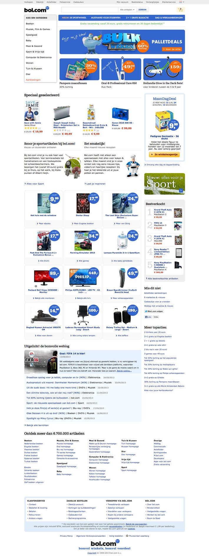 bol.com website